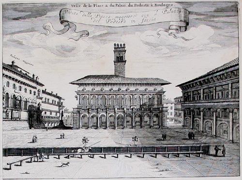 Blaeu Mortier Piazza Maggiore 1705