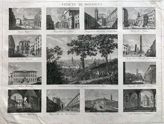 Vedute di Carolina Lose ca 1830