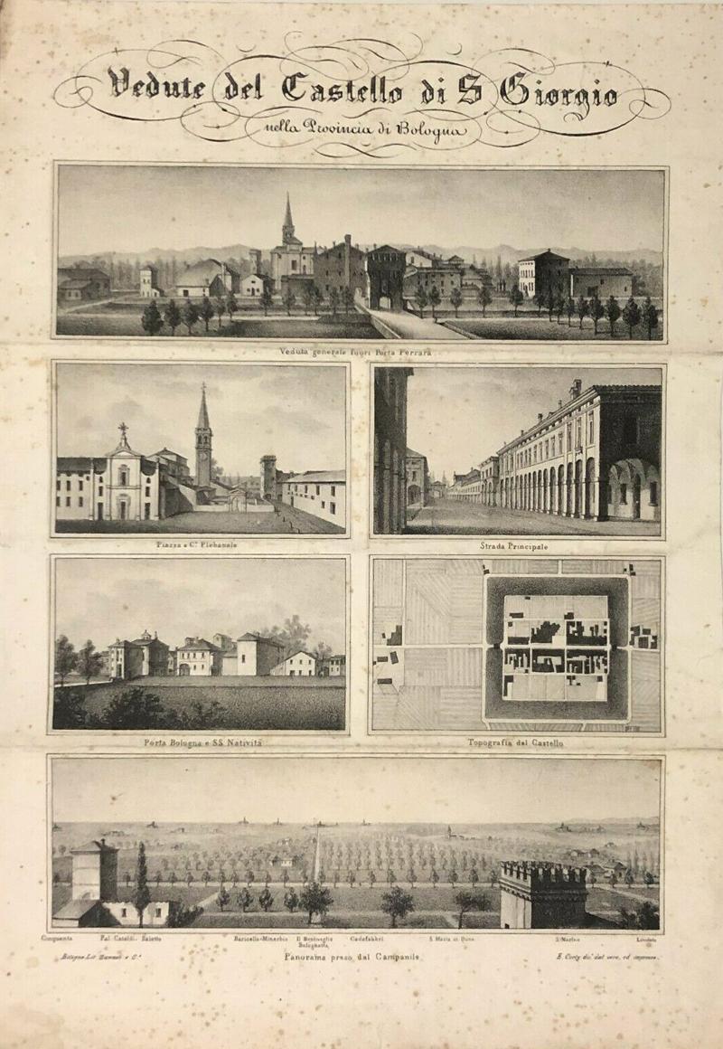Corty San Giorgio di Piano 1850