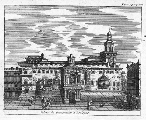 De Rogissart 1707 Palazzo Governatore