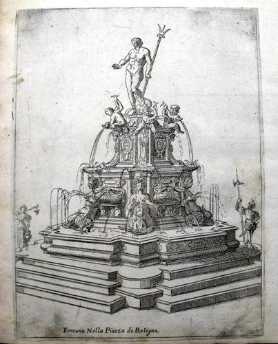 Fontana Piazza di Bologna 1618