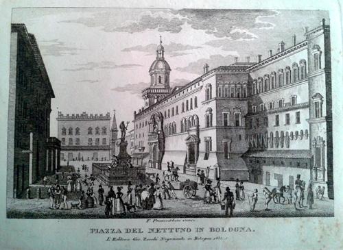 Giovanni Zecchi ca 1833-40, Piazza Nettuno
