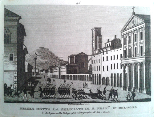 Giovanni Zecchi ca 1833-40, San Francesco
