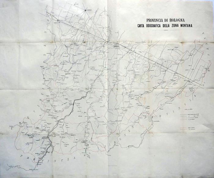 carta odografica fine XIX secolot_