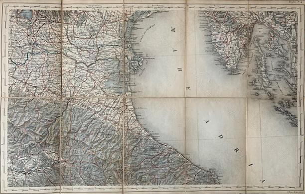 Italia Superiore e Centrale, 1865