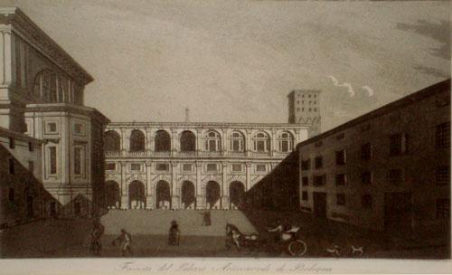 Francesco Gandini Palazzo Arcivescovile 1833/1835