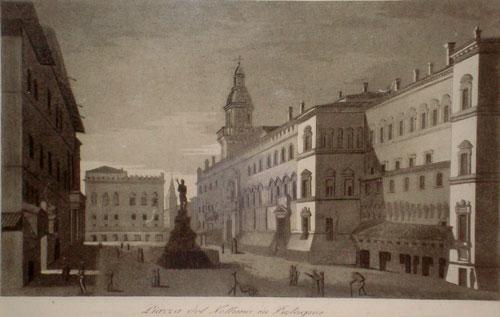 Francesco Gandini PiazzaNettuno 1833/1835