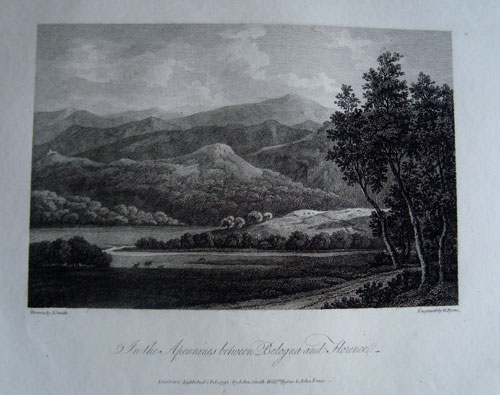 JohnSmith Appennines Bologna1792