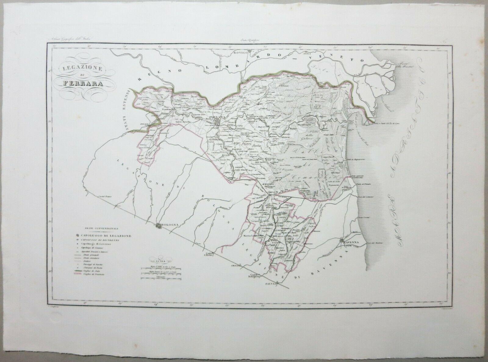 Legazione Ferrara, 1844