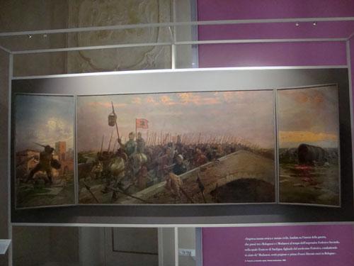 """Zappolino e la \""""Battaglia della Secchia Rapita\"""" (1325) tra Bolognesi e Modenesi"""