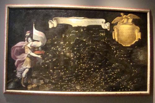 Territorium Planum Bononiense (1630) - olio su tela