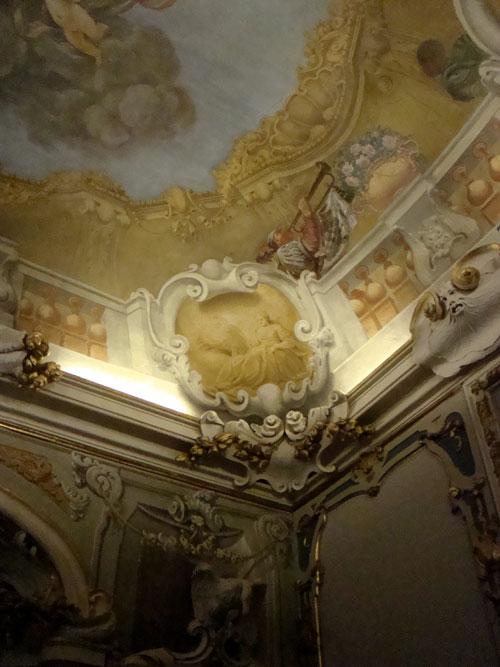Soffitti affrescati di Palazzo Pepoli